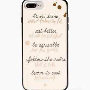 "Kate Spade ""Resolutions"" IPhone 7&8 Plus Case"